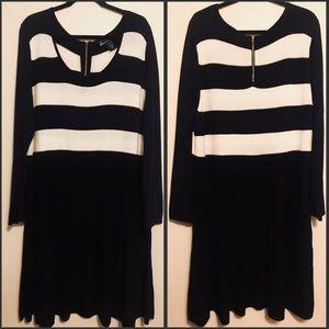 LANE BRYANT LONG SLEEVE SWEATER DRESS 22/24